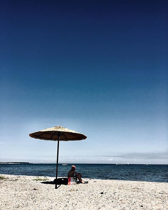 finally the sea again #kerteminde #denmark #beach #sand